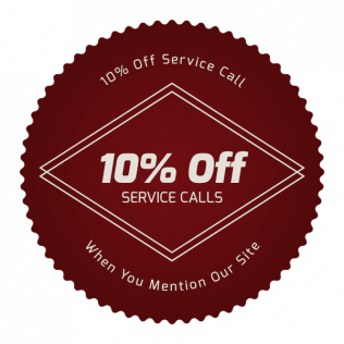 10% Off a Service Call